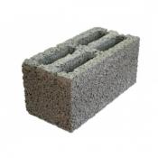 Блок керамзитобетонный щелевой СКЦ 390х190х188 мм М-50
