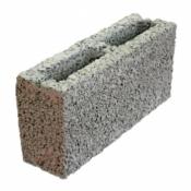 Блок керамзитобетонный щелевой СКЦ 390х190х90 мм М-50